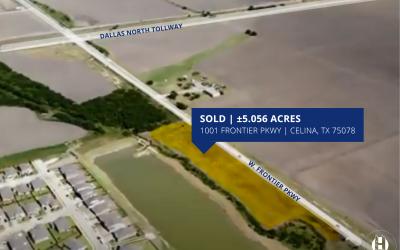 Hampton Commercial Brokers 5.056 Acres of Land in Celina